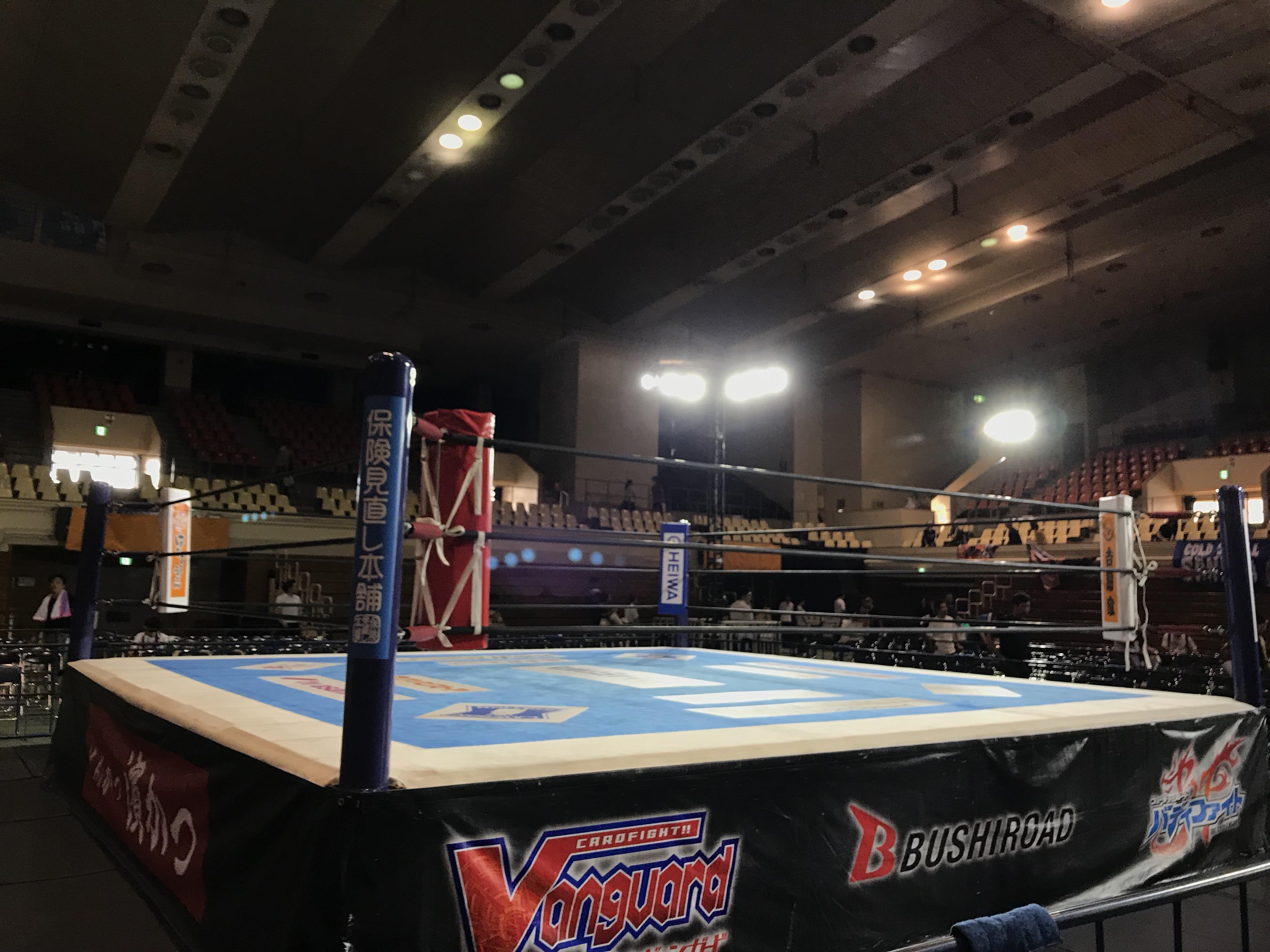新日本プロレスのリング